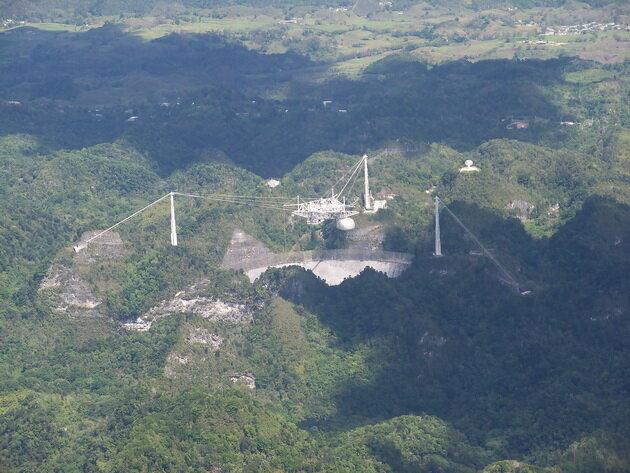 Радиотелескоп «Аресибо». Пуэрто-Рико