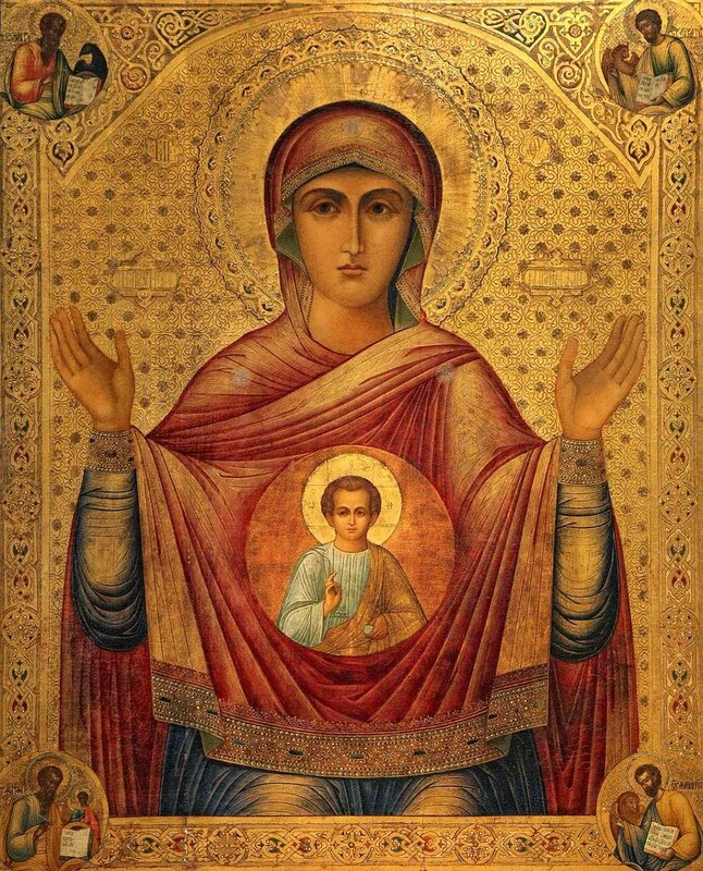 Иконы Божией Матери «иерусалимская»