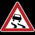 Скользкая дорога
