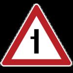 Примыкание второстепенной дороги