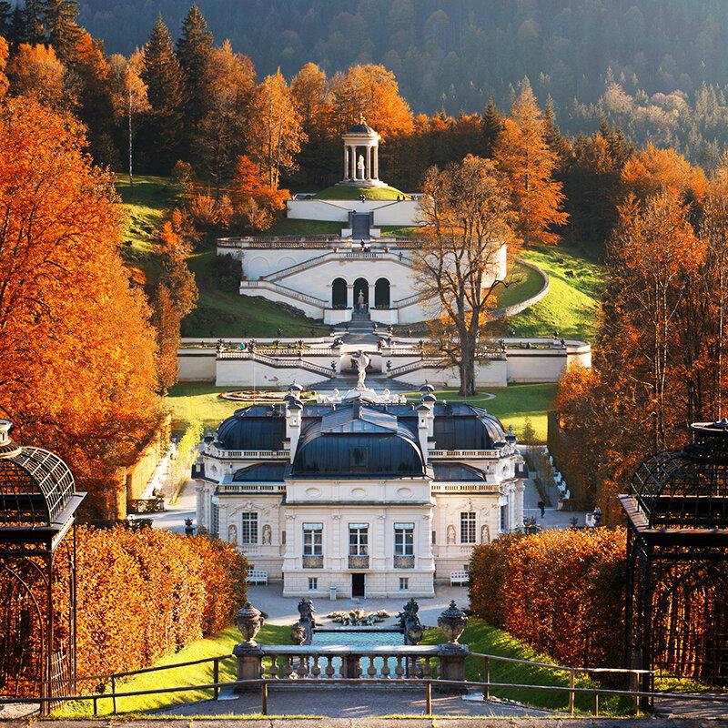 Замок Линдерхоф, Германия