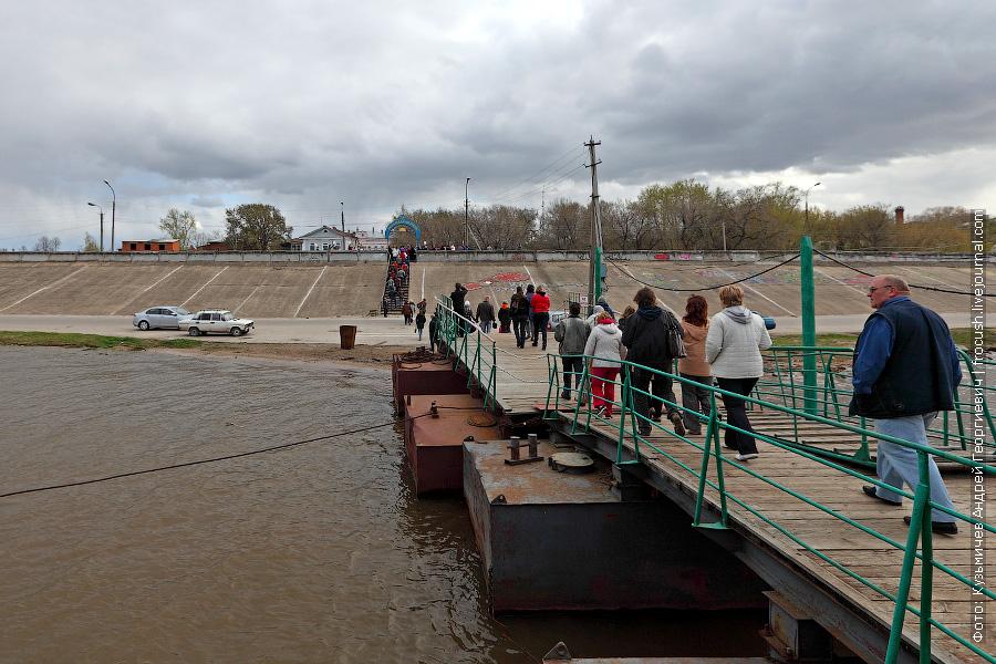 город Козьмодемьянск расположен на правом берегу Волги
