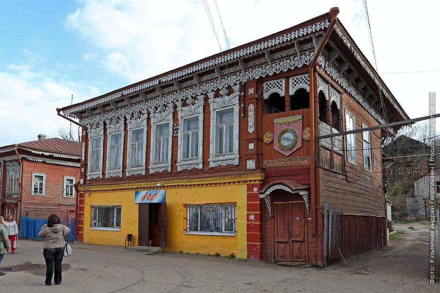 Дом Сурьянинова в Козьмодемьянске