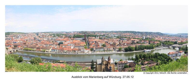 Вид на Вюрцбург