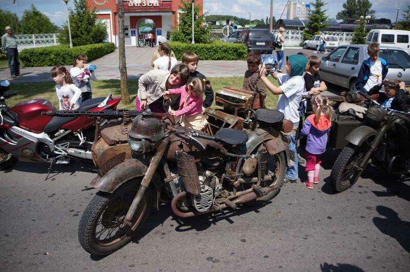 Слёт байкеров в Бресте