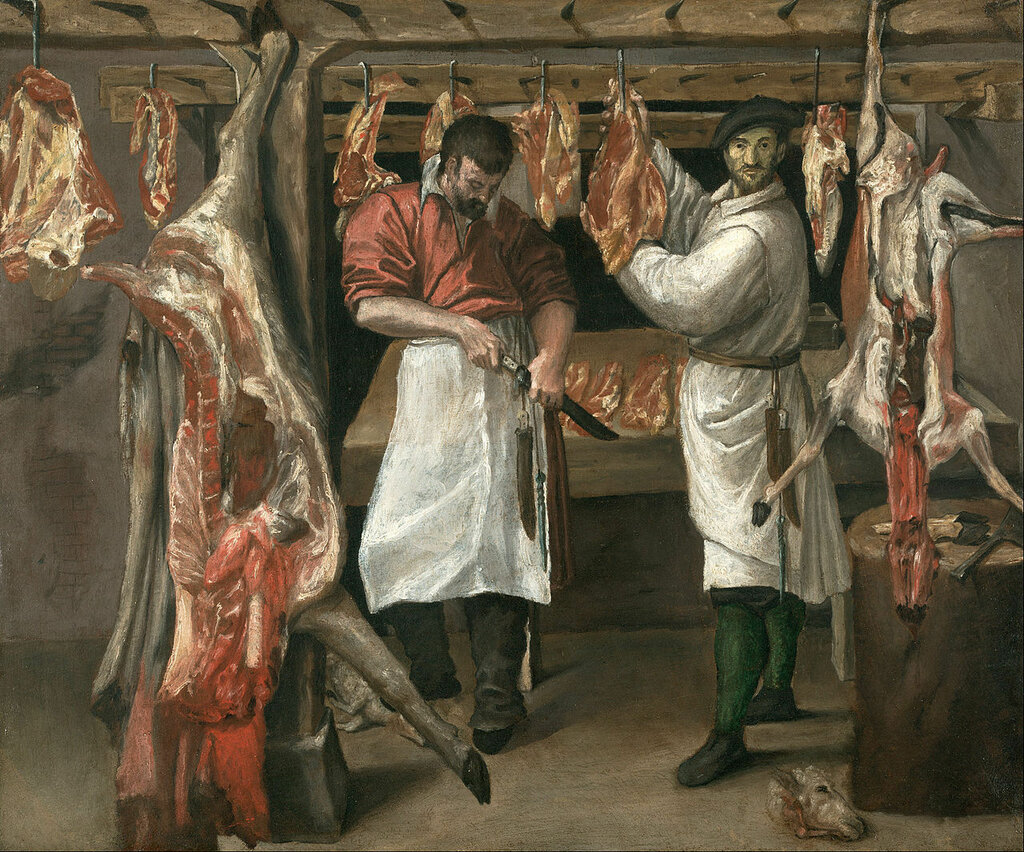 Annibale_Carracci_-_The_Butcher's_Shop_-_Google_Art_Project нач. 1580-х.jpg
