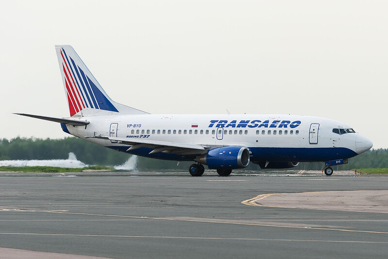 Boeing 737-524 (VP-BYO) Трансаэро DSC0410