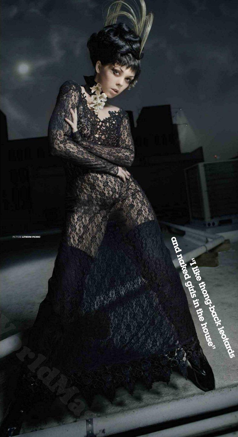 Bizarre Girls 2012 - модель Апноэ / Apnea