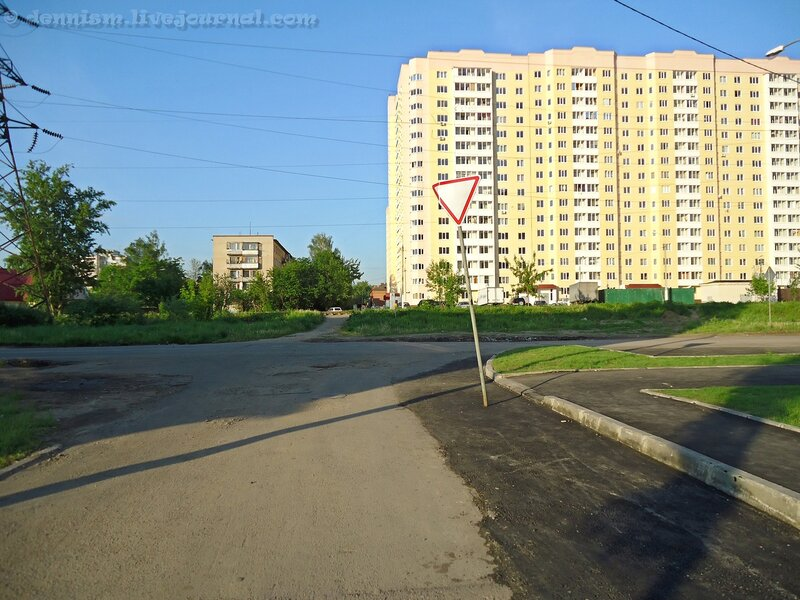 Фрязино, улица Попова.