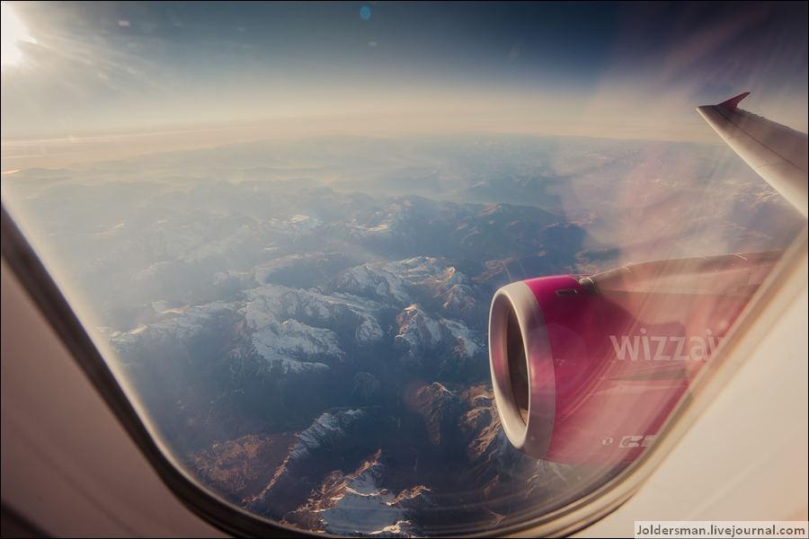 самолетом в Италию