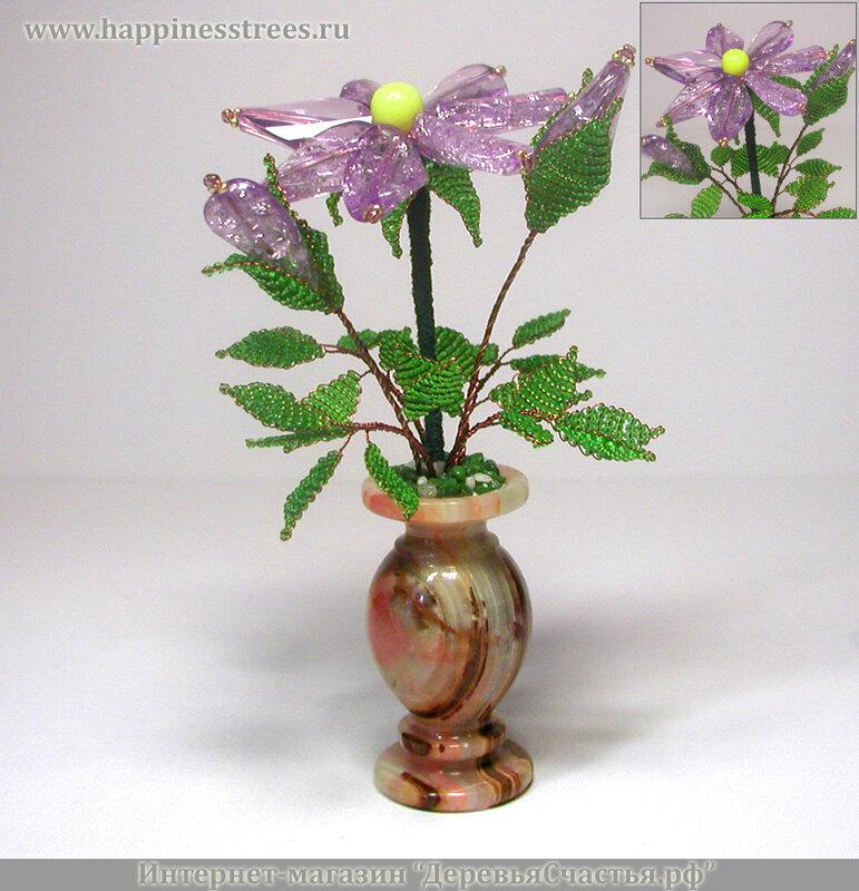 Ярмарка Мастеров - ручная работа Волшебный цветок из бисера.  Handmade.