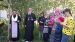 Установка поклонных крестов на месте упокоения воинов, погибших в годы Великой Отечественной войны