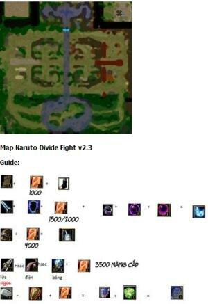 Наруто Warcraft карты, за май 2012 скачать бесплатно