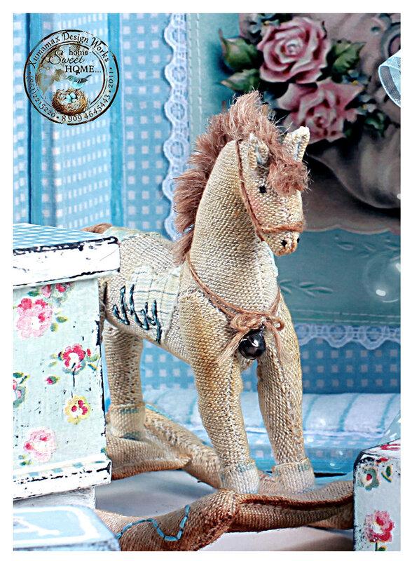 Тильда-лошадка.