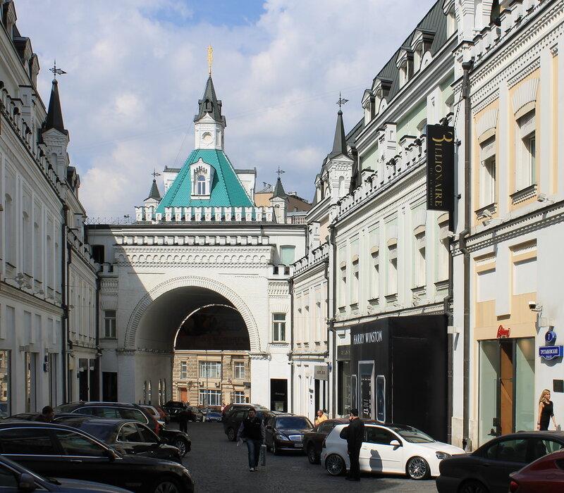 Москва, Третьяковский проезд.