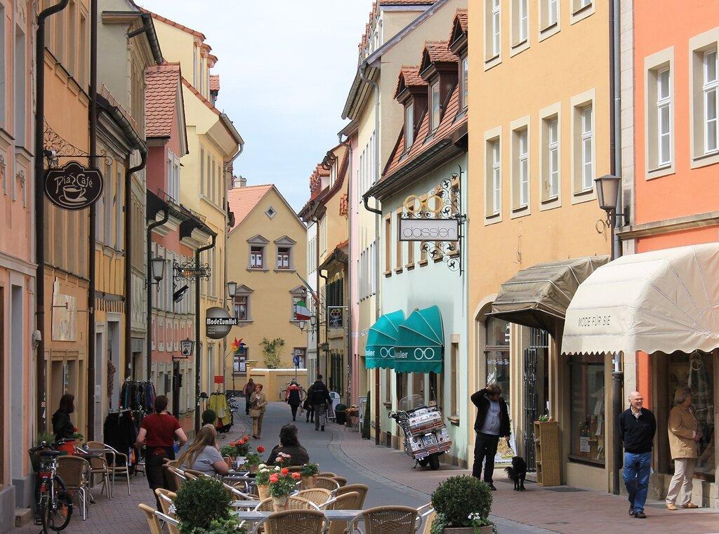 Bamberg. Hauptwachstraße
