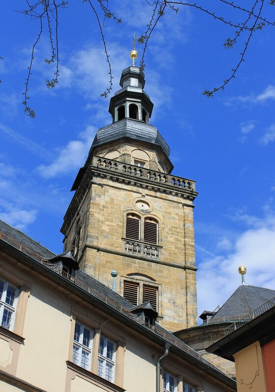 Bamberg. The Church of St. Martin (Martinskirche)