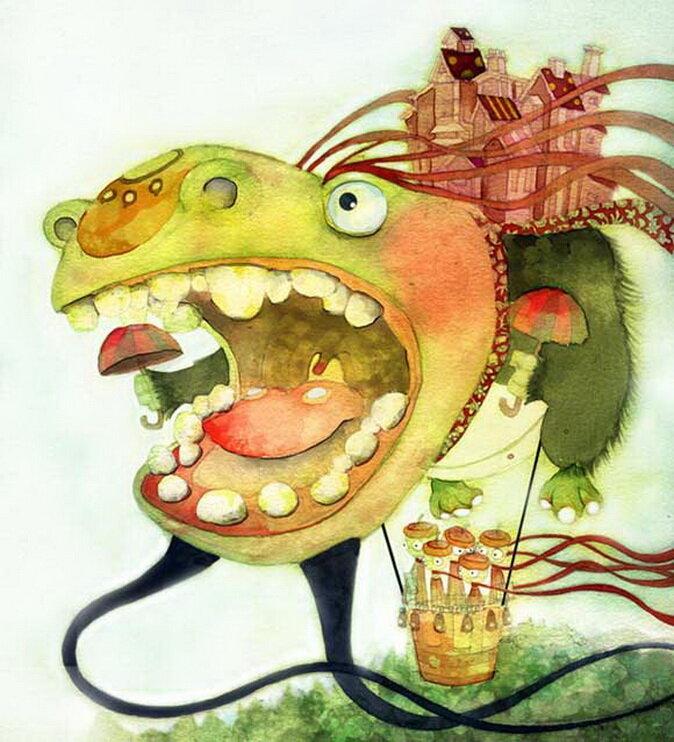 Sim Kyoung Sick - Иллюстратор из Кореи