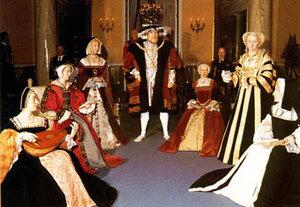 Ищите Венеру…Жены Генриха VIII и исторические коллизии