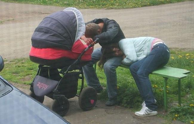 Ноидеальный вариант— когда уснули всей семьей одновременно. Вывдруг судивлением обнаружили, что