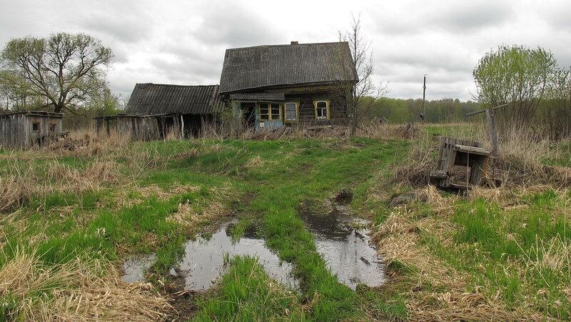 Россия заброшенные деревни очень