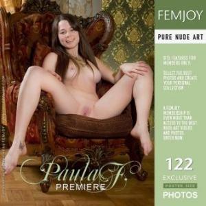 Журнал Журнал FεmJοy - 2012-04-24 - Ρаulа F - Ρrеmіеrе