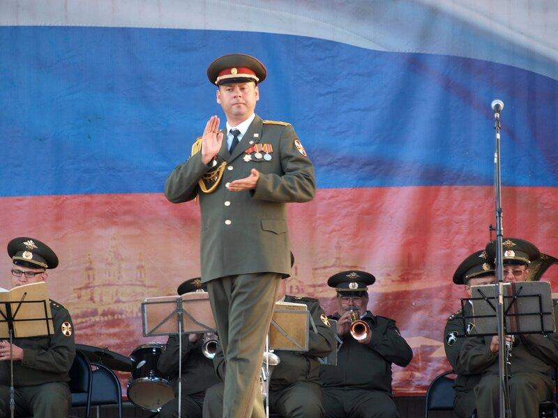 худрук майор Дмитрий Сухоруков