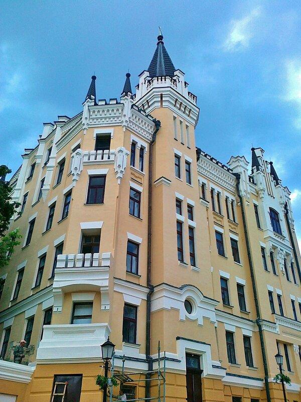 Замок Ричарда после реконструкции
