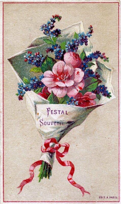 Ретро картинки цветы