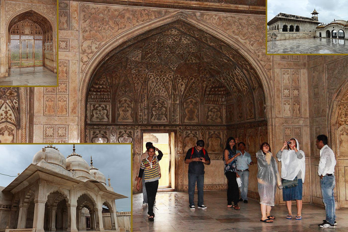 Фотография 9. Туры в Индию. В покоях правителей Агры