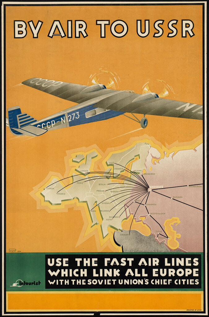 By air to USSR 1934