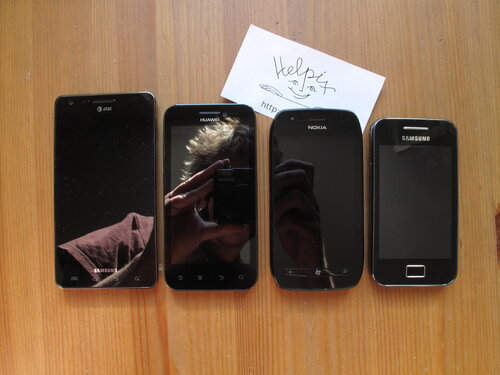 Samsung Infuse 4G, Huawei Honor, Nokia Lumia 710, Samsung Galaxy Ace