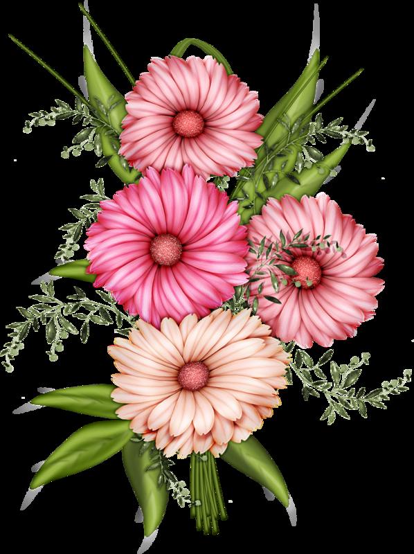 Нарисованные картинки цветов 5