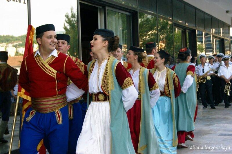 "Выступление ансамбля ""Ilija Kišić"""