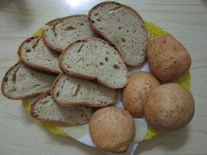 Хлебушек без дрожжей