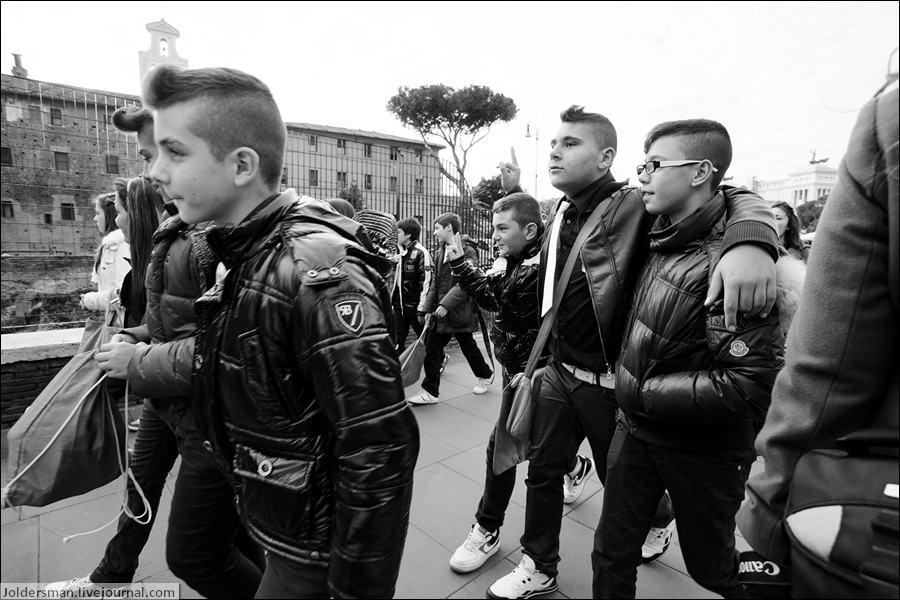 дети в Риме