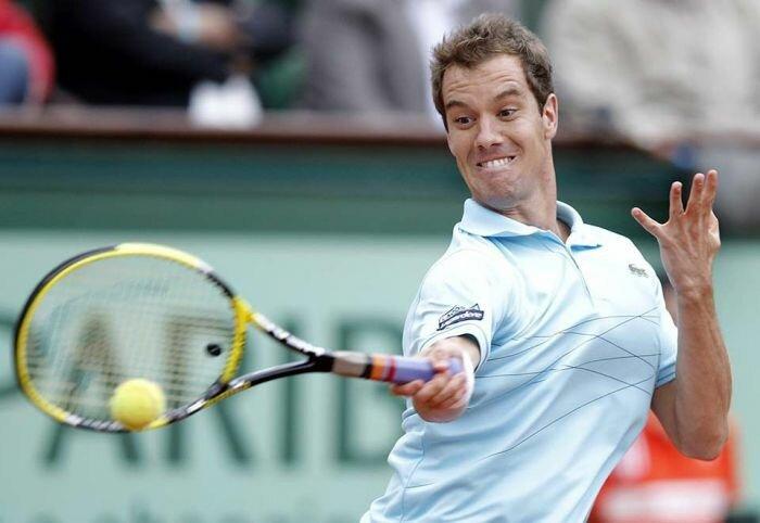 Аццкие лица теннисистов