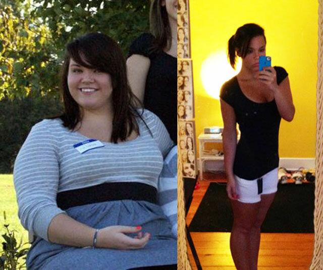 Похудевшие девушки
