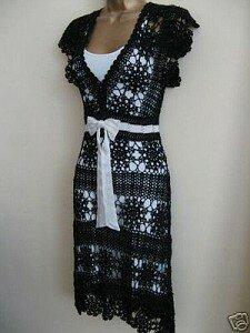 Черное и белое. Шикарное платье от Karen Millen Наши воплощения