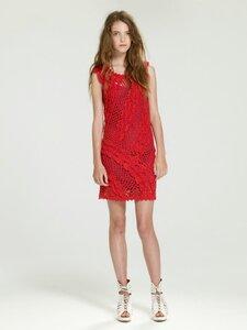 Лето красное- платье крючком.