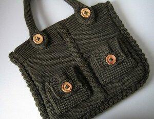 Стильная сумка в стиле casual