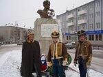 У памятника П.И.Багратиону
