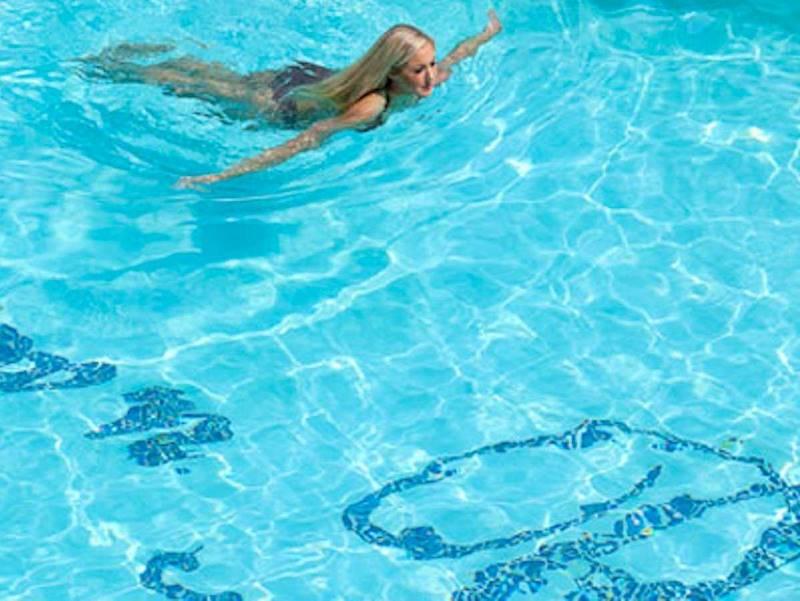 17. Мечта: пустой бассейн в Crown Reef в Myrtle Beach, в котором всегда есть место для красивых женщ