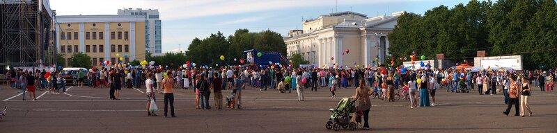 панорама Театральной площади