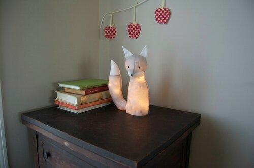Светильник в форме лисы