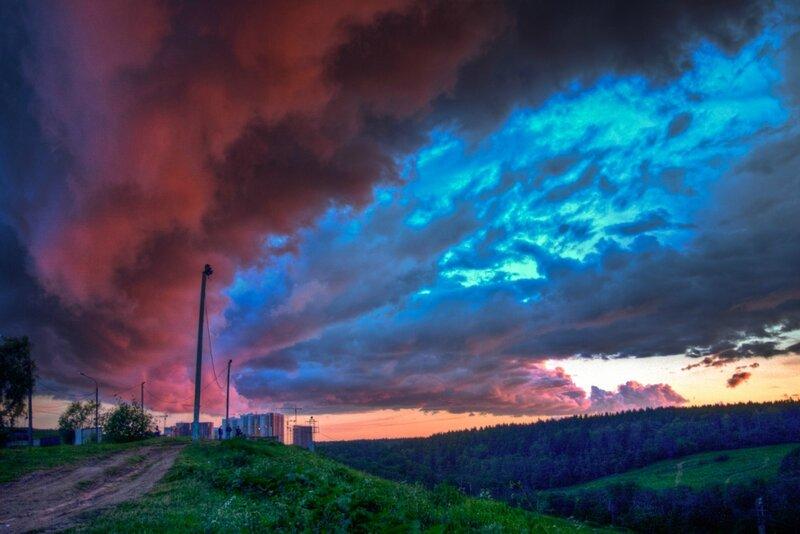 Облака над черневской горкой