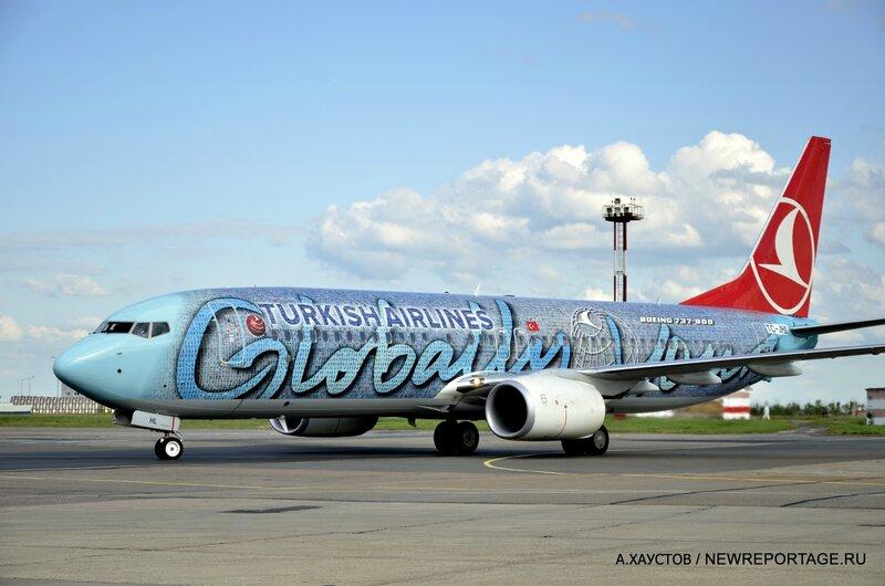 Turkish Airlines показала уникальный самолёт