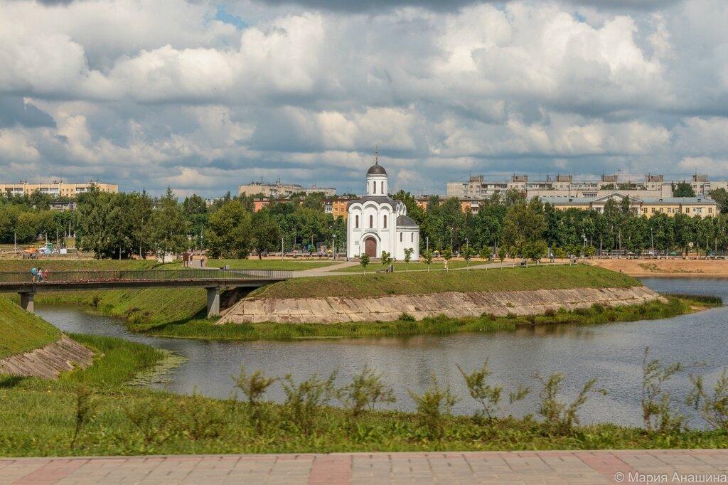 Часовня Михаила Тверского на острове Памяти
