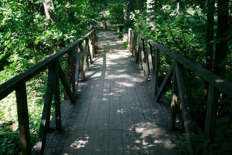 Абрамцево, мостик