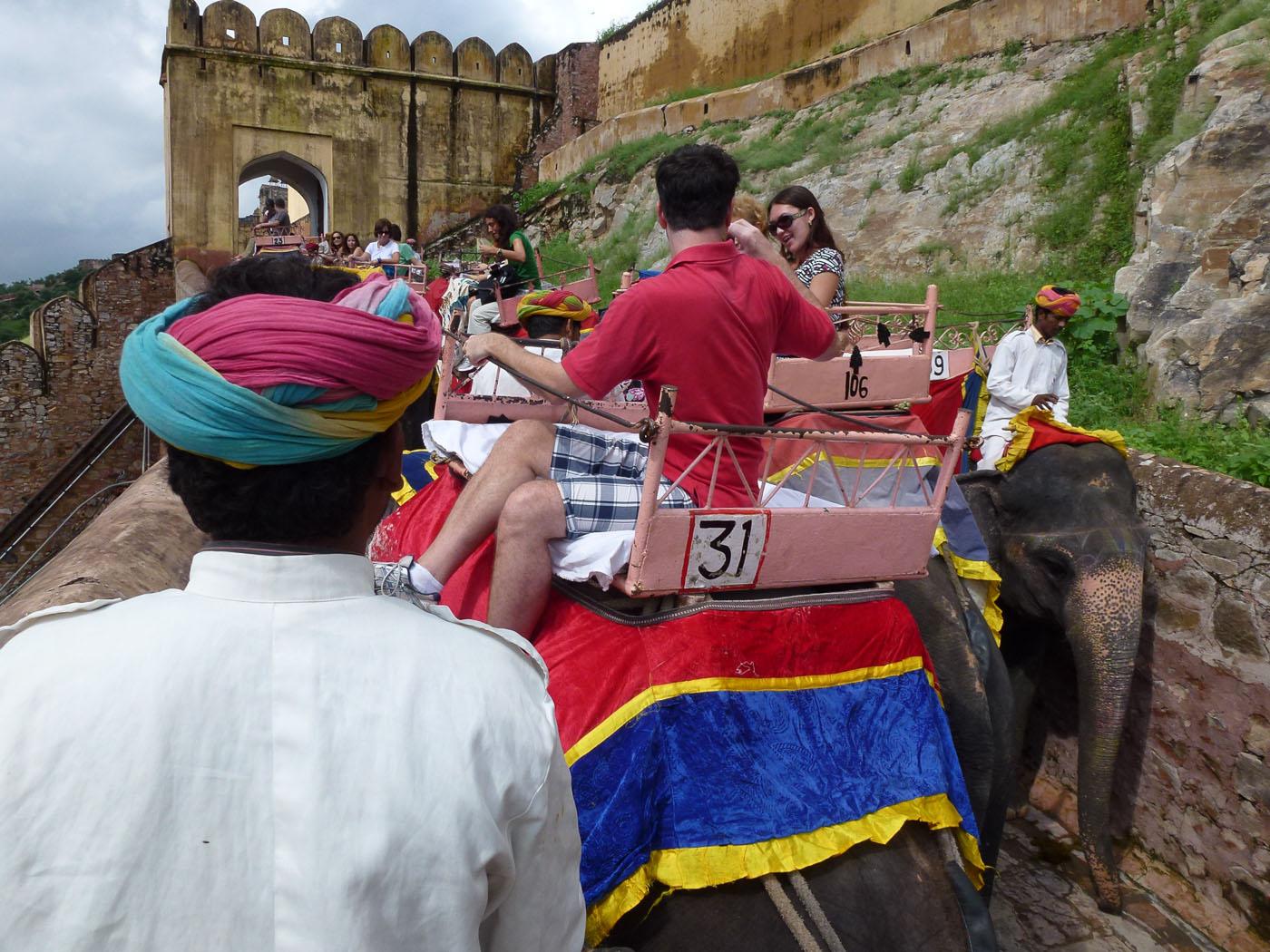 Фотография 9. Отчеты туристов о поездке в Джайпур. Экскурсия на слонах